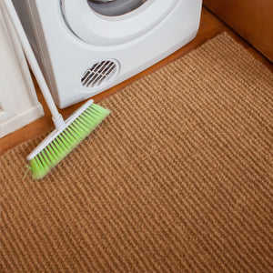 These 100% natural coconut fibre, woven floor mats are very hard-wearing, and because they are static-free they don't harbour dirt or dust. Perfect for utility rooms in the house and shed.
