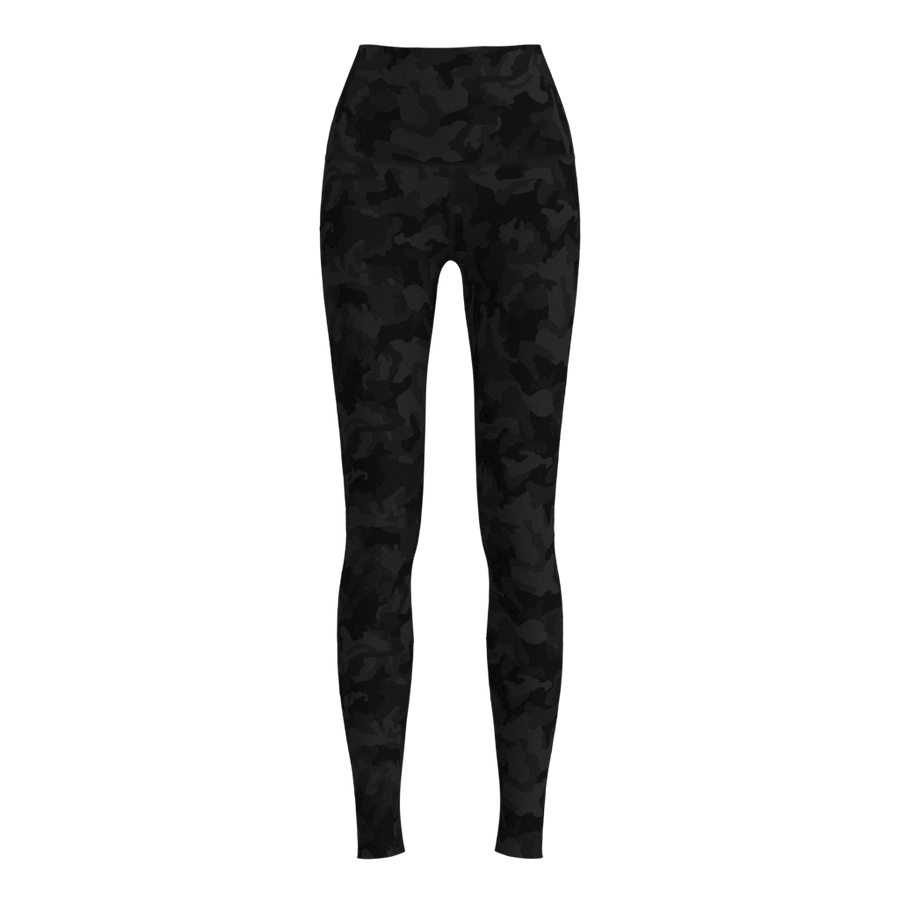 W No-Outseam Legging - Luxe Brushed - Camo Grey