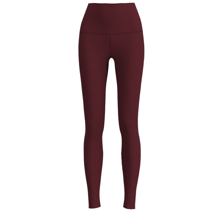 W No-Outseam Legging - Luxe - Burgundy