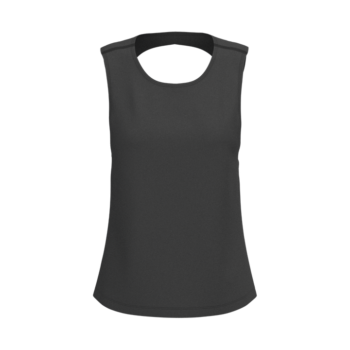 W Twist Tank - Nacar - Black