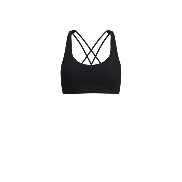 Cross-Back Bra - 3/4""