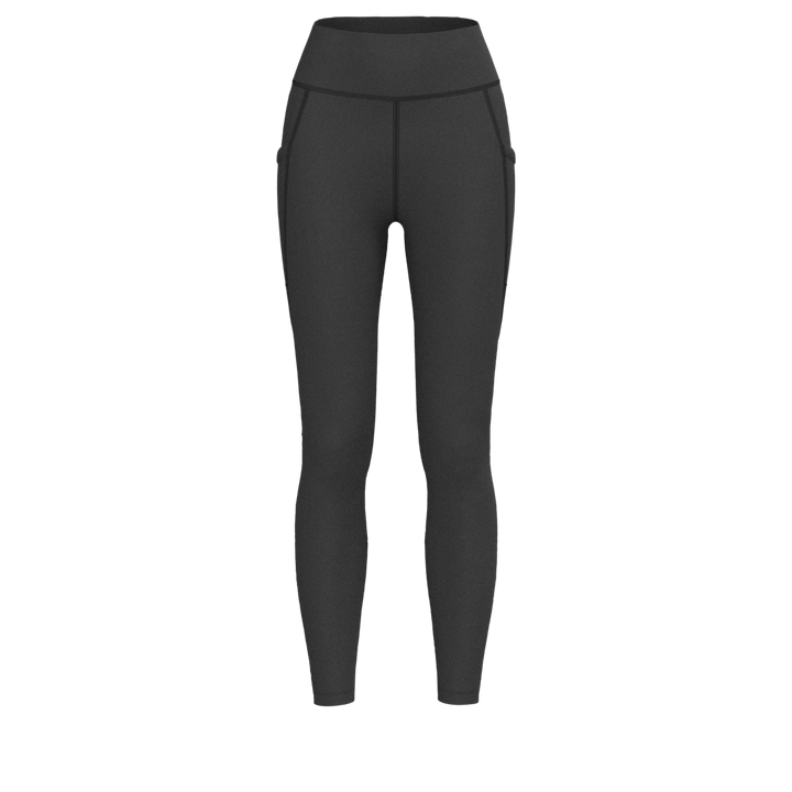 W Sport Pocket Legging - Luxe Brushed - Black