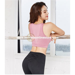 Sports Bra For Training Yoga Gym & Fun