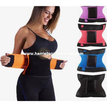 Load image into Gallery viewer, Waist Eraser & Sweat Sliming Belt Trainer