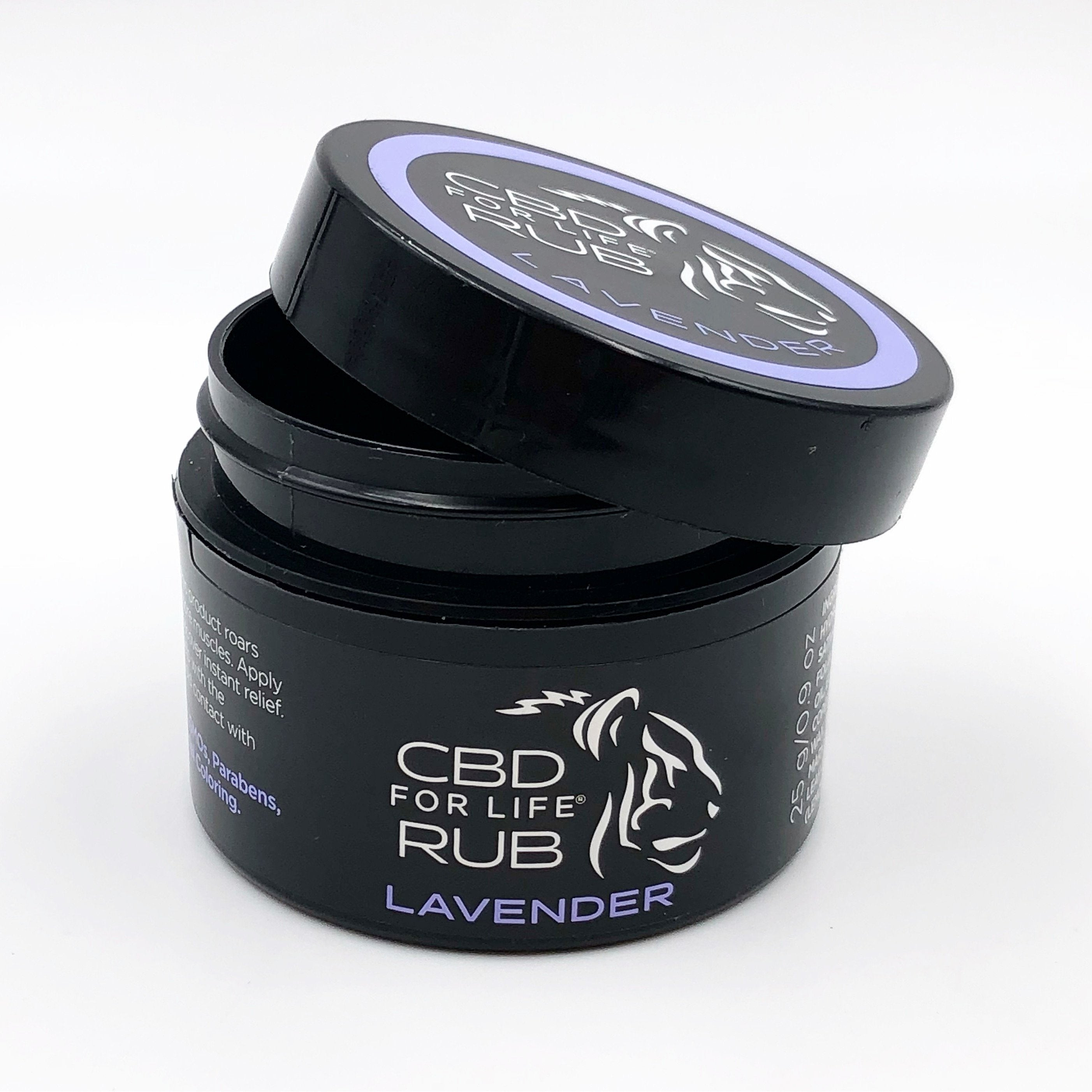 Pure CBD For Life Rub – Lavender