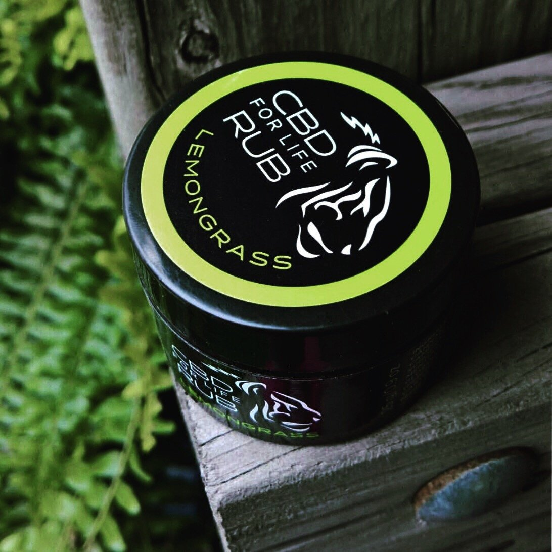 Pure CBD For Life Rub – Lemongrass