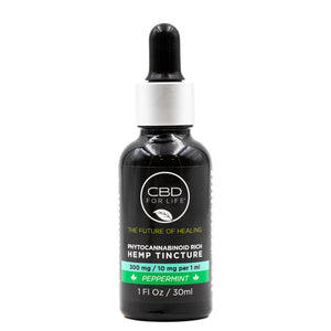 Phytocannabinoid Rich Hemp Tinctures-Peppermint 300mg