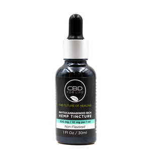 Phytocannabinoid Rich Hemp Tinctures-Non flavored 300mg