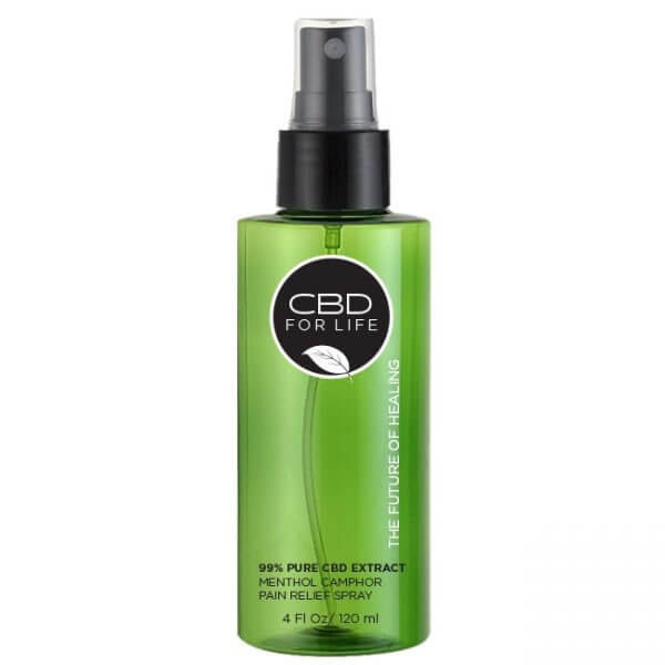 Pure CBD Extract Pain Relief Spray