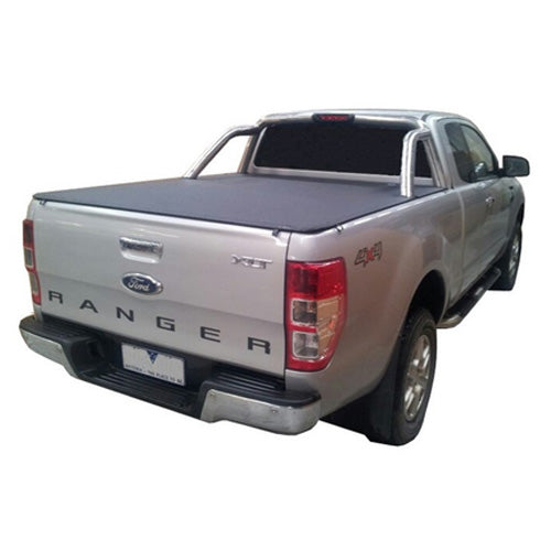 Clip On Tonneau Ute Soft Cover - Ford PX Ranger Super Cab 11-Current