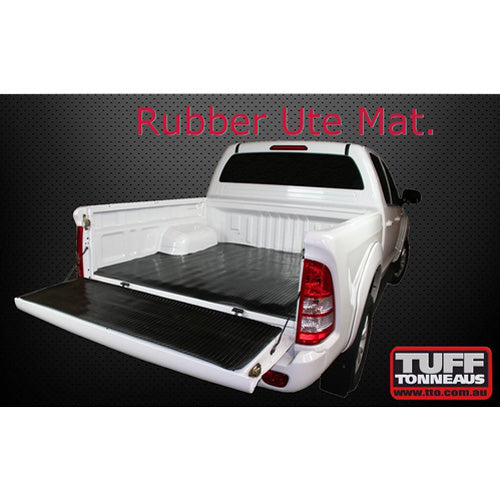 Rubber Ute Mat - Foton Tunland P201 14-Current