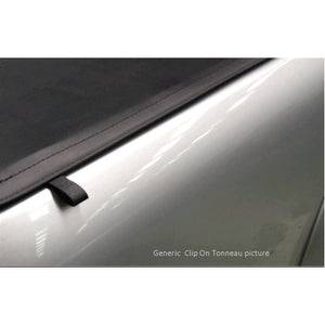 Clip On Tonneau Ute Soft Cover - Isuzu D-Max Dual Cab 03-12