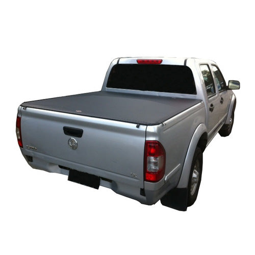 Clip On Tonneau Ute Soft Cover - Holden Rodeo Dual Cab 03-12