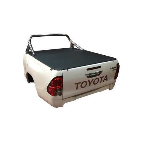 Clip On Tonneau Ute Soft Cover - Toyota Hilux A Deck Extra Cab 15-Current