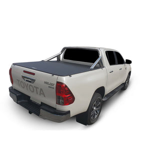 Genuine No Drill Clip On Tonneau Ute Soft Cover - Toyota Hilux A Deck Dual Cab 15-Current