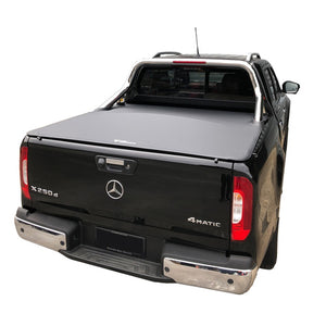 Genuine No Drill Clip On Tonneau Ute Soft Cover - Mercedes X-Class Dual Cab 18-Current