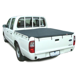 Headboard Bunji Tonneau Ute Soft Cover - Ford Courier Dual Cab 99-06