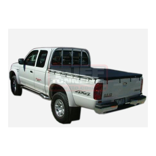 Headboard Bunji Tonneau Ute Soft Cover - Ford Courier Super Cab 99-06