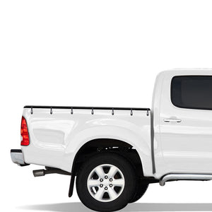 Headboard Bunji Tonneau Ute Soft Cover - Mazda Bravo Single Cab 99-06