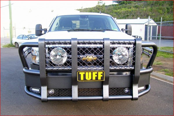 Chevrolet Silverado - 2006 to Current TUFF Bullbar