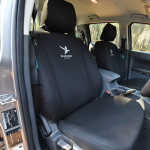 Black Duck Seat Covers To Suit Isuzu NH Series (15-Current)