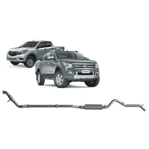 Redback 4x4 Extreme Duty - 4x4 Performance Exhaust To Suit Ford Ranger PX, PX MK2 And Mazda BT-50 UP, UR