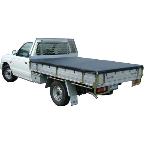 Rope Tonneau Ute Soft Cover - Tray Tonneau Covers Tray Back/Cab Chassis Flexiglass