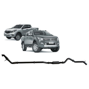 Redback 4x4 - 4x4 Performance Exhaust To Suit Ford Ranger PX, PX MK2 And Mazda BT-50 UP, UR