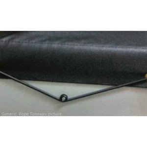 Headboard Rope Tonneau Ute Soft Cover - Ford Courier Dual Cab 85-98