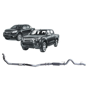 Redback 4x4 Extreme Duty - 4x4 Performance Exhaust To Suit Holden Colorado RC, Rodeo RA and Isuzu D-Max RC