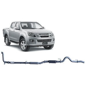 Redback 4x4 Extreme Duty - 4x4 Performance Exhaust To Suit Isuzu D-Max TF (2012-2017)