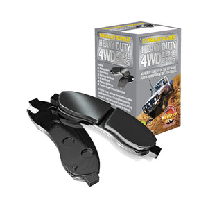 4WD Heavy Duty Brake Pads - Toyota Tacoma GRN