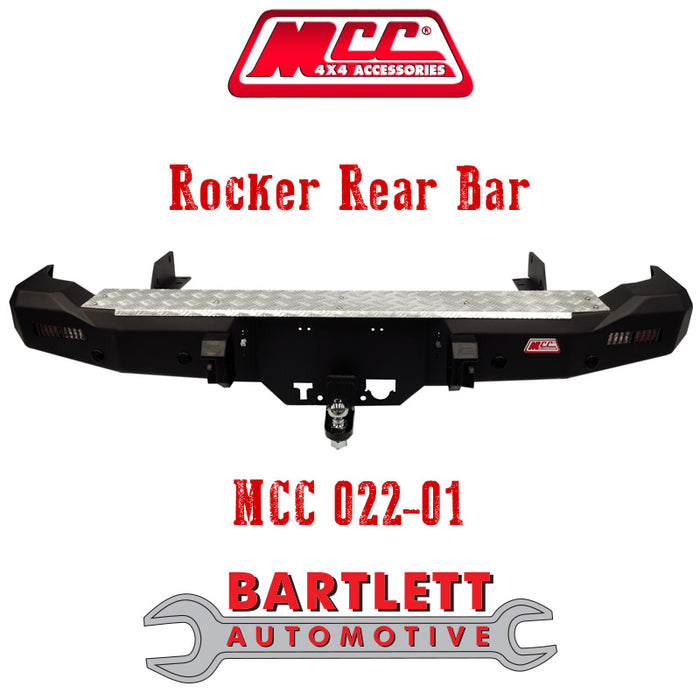 Isuzu D-Max 12-16 (High-Ride 2WD & 4WD) - MCC 4x4 Rear Bars