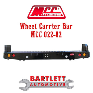 Toyota Fortuner 16-Present - MCC 4x4 Rear Bars