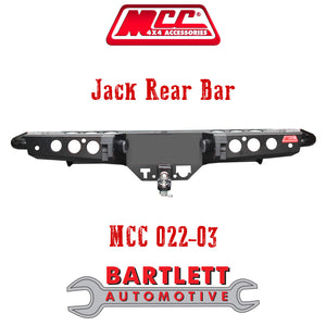 Holden Rodeo (RA) 03-07 - MCC 4x4 Rear Bars