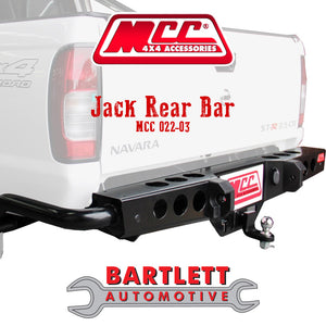 Great Wall V200 & V240 - MCC 4x4 Rear Bars