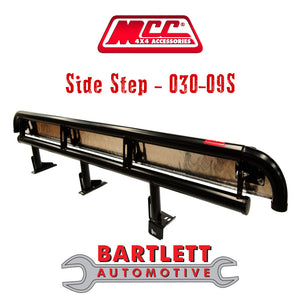 Ford Everest 16 10/15-Present - MCC 4x4 Side Steps & Side Rails (Dual Cab Only)