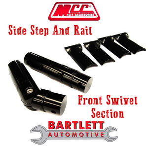 Ford Ranger PX 12-15 MK I - MCC 4x4 Side Steps & Side Rails