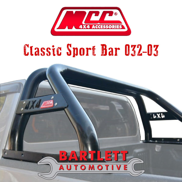 Holden Colorado (RG) 12-Present - MCC 4x4 Sport Bar