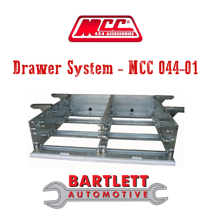 Holden Colorado (RC) 08-11 - MCC 4x4 Drawer System