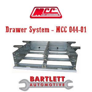 Holden Rodeo (RA) 03-07 - MCC 4x4 Drawer System