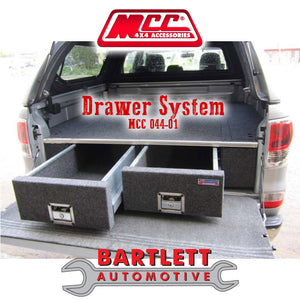 Ford Courier (PE-PG-PH) 99-03/07 MCC 4x4 Drawer System