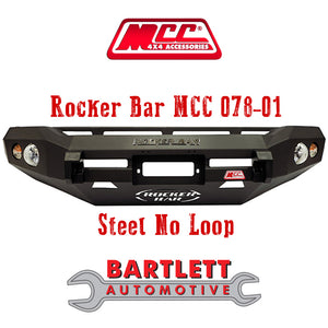 Mazda BT50 06-11 - MCC 4x4 Rocker Bar Bullbar