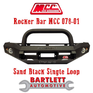 Holden Colorado (RC) 08-11 - MCC 4x4 Rocker Bar Bullbar