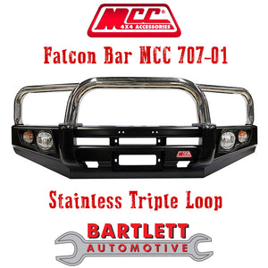 Jeep Grand Cherokee WJ 99 Onwards MCC 4x4 Falcon Bullbar