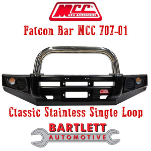 Holden Colorado (RC) 08-11 - MCC 4x4 Falcon Bullbar