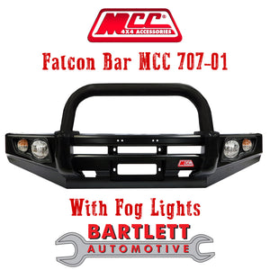 Holden Colorado 7 (Wagon) - MCC 4x4 Falcon Bullbar