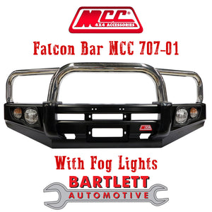 JMC Vigus 2015-ON - MCC 4x4 Falcon Bullbar