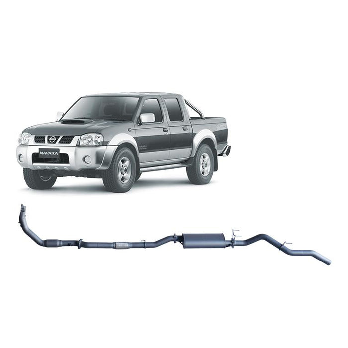 Redback 4x4 Extreme Duty - 4x4 Performance Exhaust To Suit Nissan Navara D22 (2008-2016)