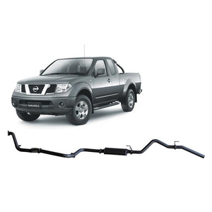 Redback 4x4 - 4x4 Performance Exhaust To Suit Nissan Navara D40 (2008-2016)